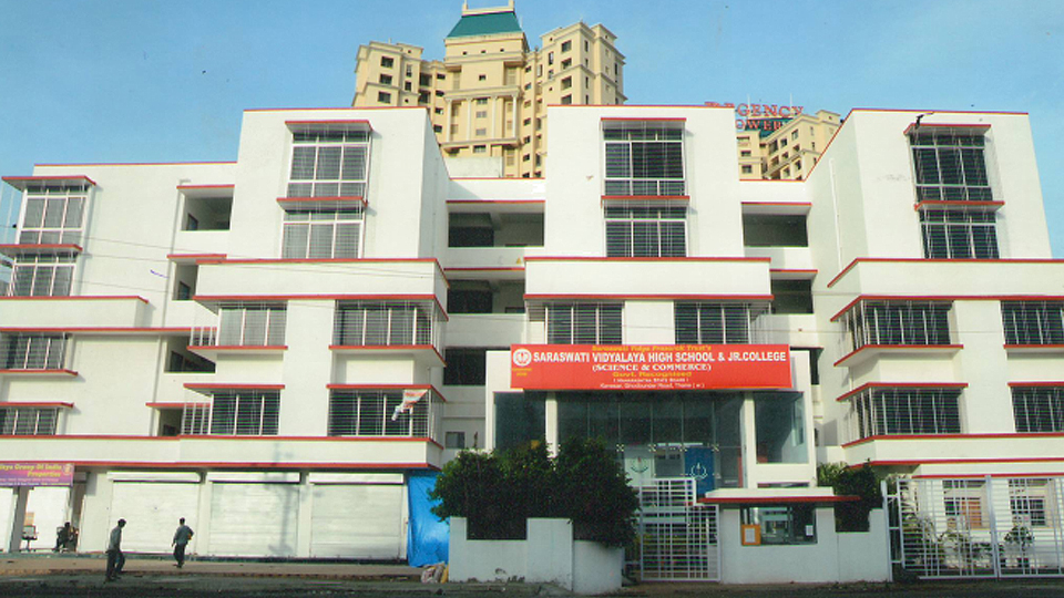 Saraswati Vidyalaya High School & Junior College Ghodbunder Road in Thane